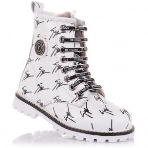 Детская обувь PERLINKA (Зимние ботинки на шнурках и молнии)