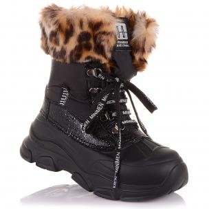Детская обувь PERLINKA (Зимние ботинки на шнуровке и на змейке)