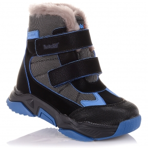 Детская обувь PERLINKA (Спортивные зимние ботинки на двух липучках)