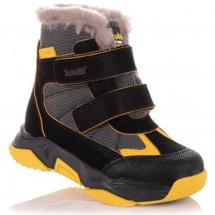 Детская обувь PERLINKA (Спортивные зимние ботинки с яркими элементами)