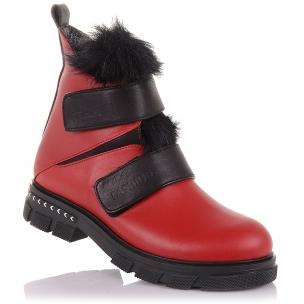 Детская обувь PERLINKA (Яркие зимние ботинки на липучках и молнии)