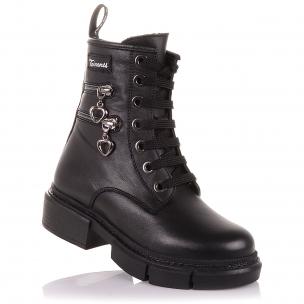 Детская обувь PERLINKA (Стильные зимние ботинки на шнурках и молнии )
