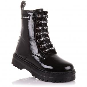 Детская обувь PERLINKA (Стильные зимние ботинки на шнурках и молнии)