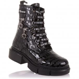 Детская обувь PERLINKA (Стильные зимние ботинки на модной подошве)